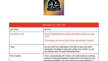 VE1-settings